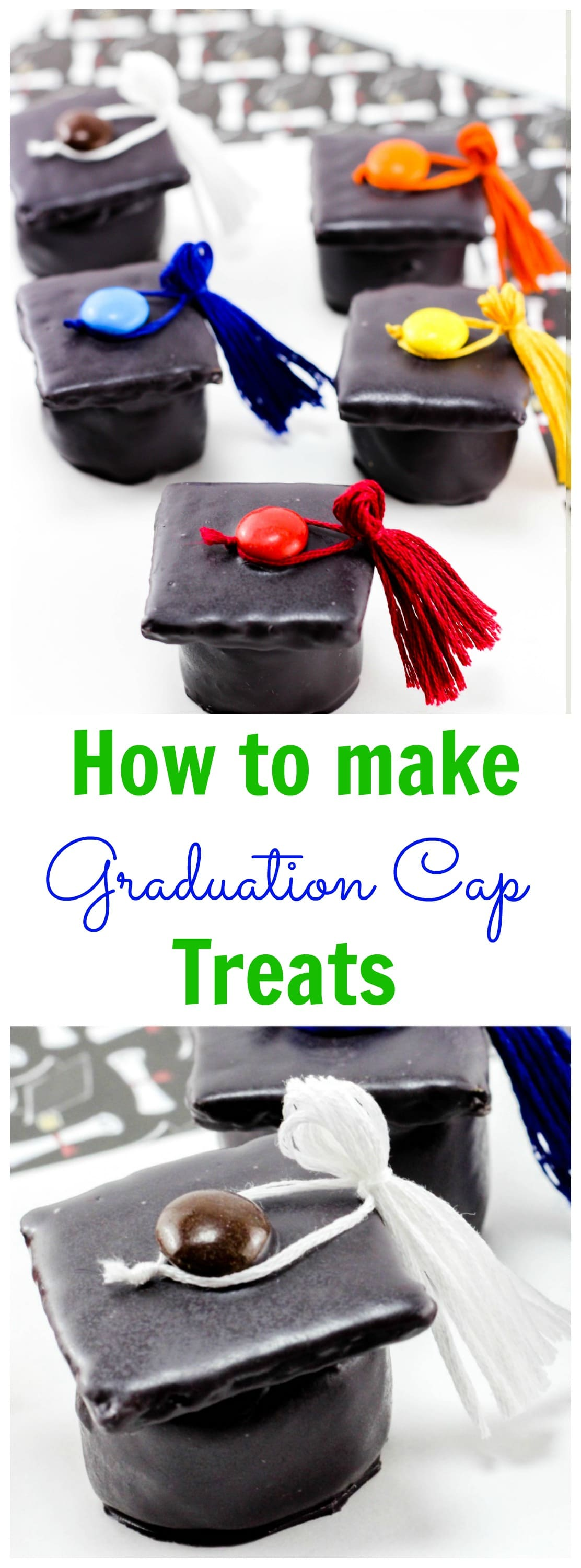 Kindergarten graduation treat ideas graduation cap treats - Kindergarten graduation decorations ...