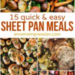 15 Quick and Easy Sheet Pan Meals
