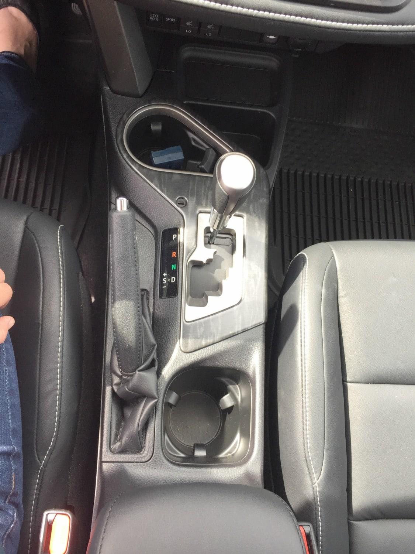 2017 Toyota RAV4 middle console
