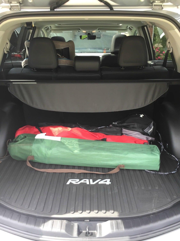 2017 Toyota RAV4 trunk space