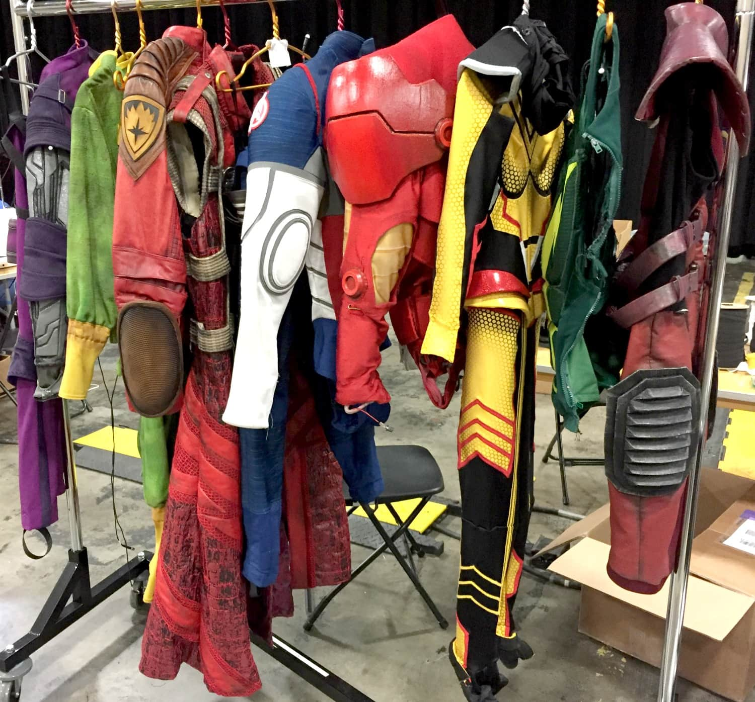 Marvel Live Costumes