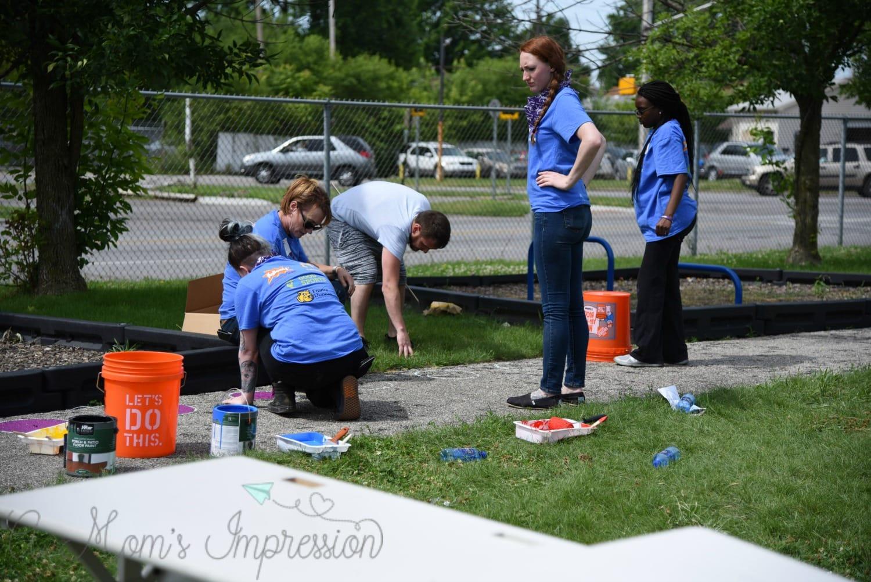 Painting the Playground