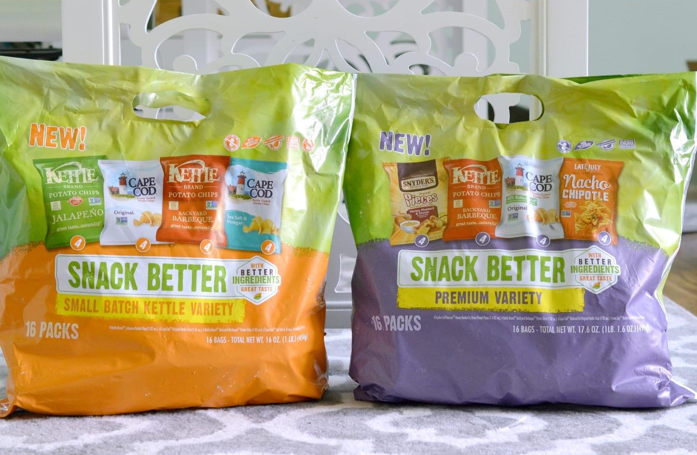 Snack Better Variety Packs