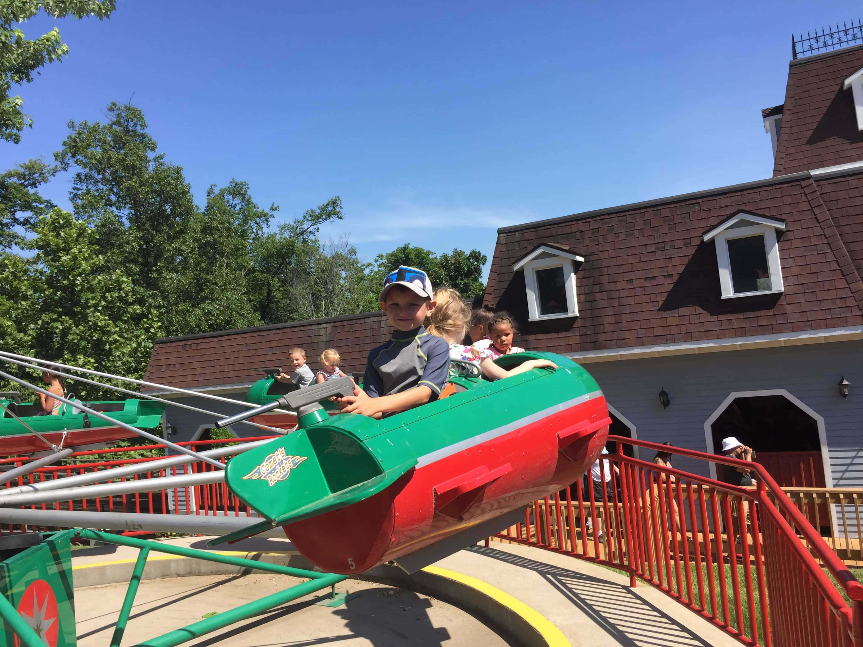 Holiday world plane ride