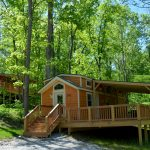 The Christmas Cabins at Lake Rudolph Campground & RV Resort