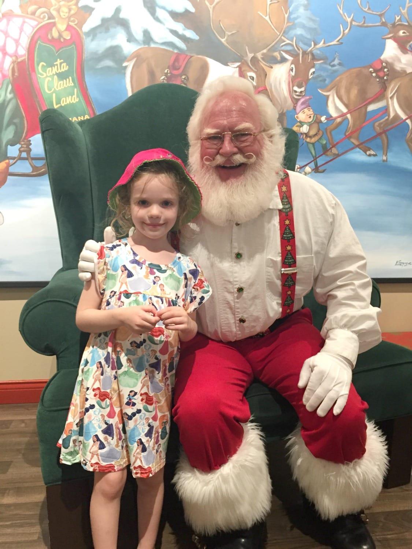 Santa and Caroline