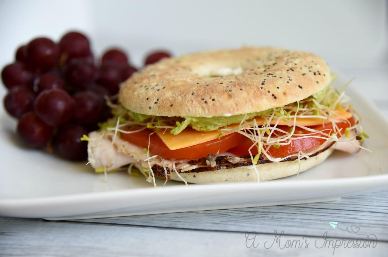 Smokehouse Turkey and Cheddar Sandwich