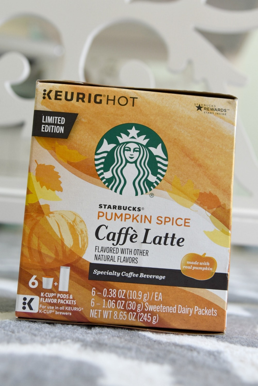 Starbucks Pumpkin Spice Caffè Latte