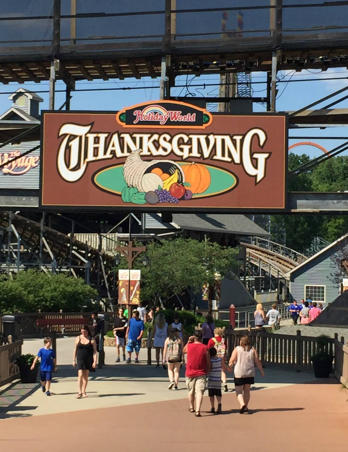 Thanksgiving at Holiday World