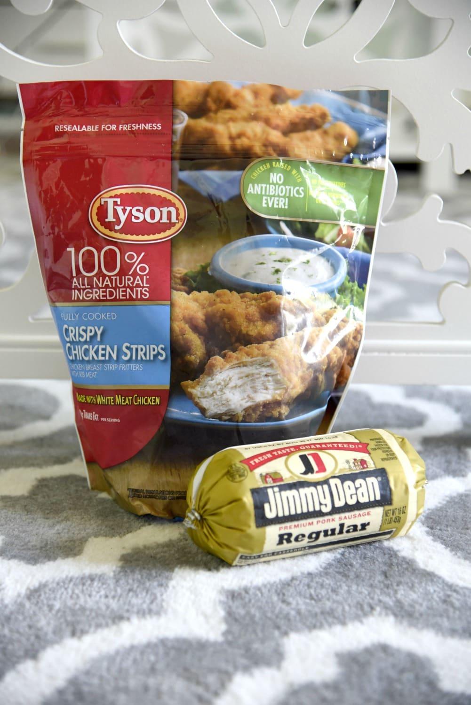 Tyson Crispy chicken strips