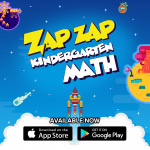 Getting Ready for Kindergarten: Zap Zap Kindergarten Math