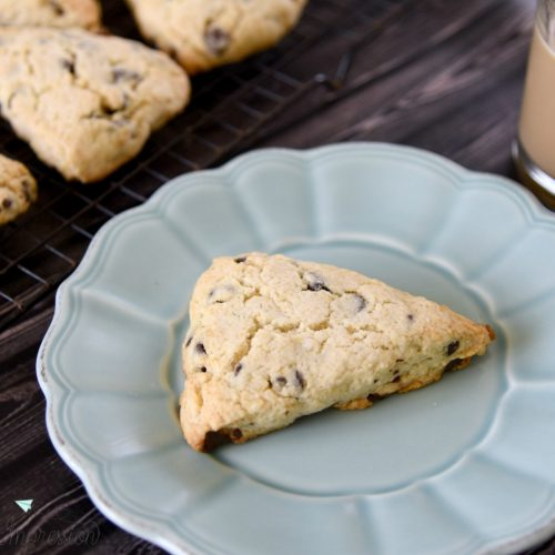 chocolate chip scone recipe
