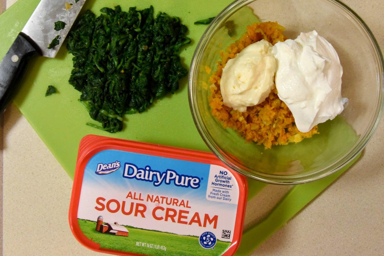 make easy spinach dip