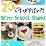 20 Kid-Approved After School Snack Ideas