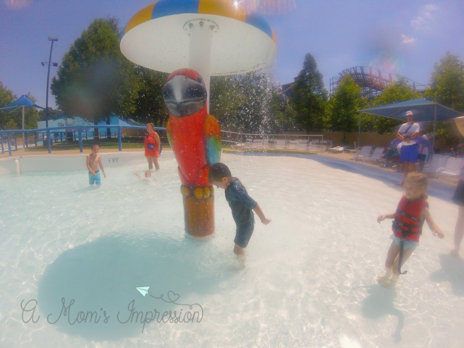 Splashin Safari splash Pad