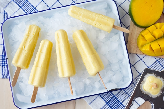 Clean eating popsicle