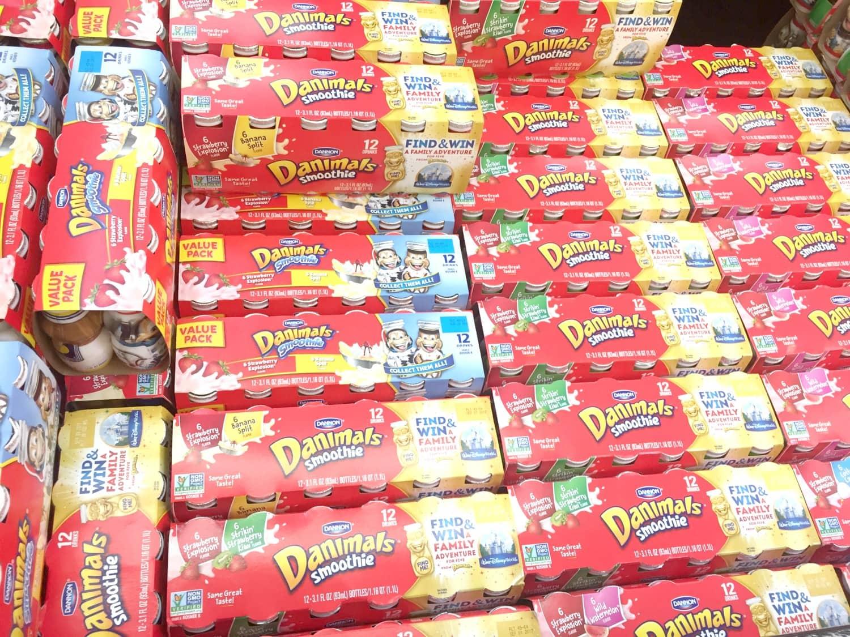 Danimals at Walmart