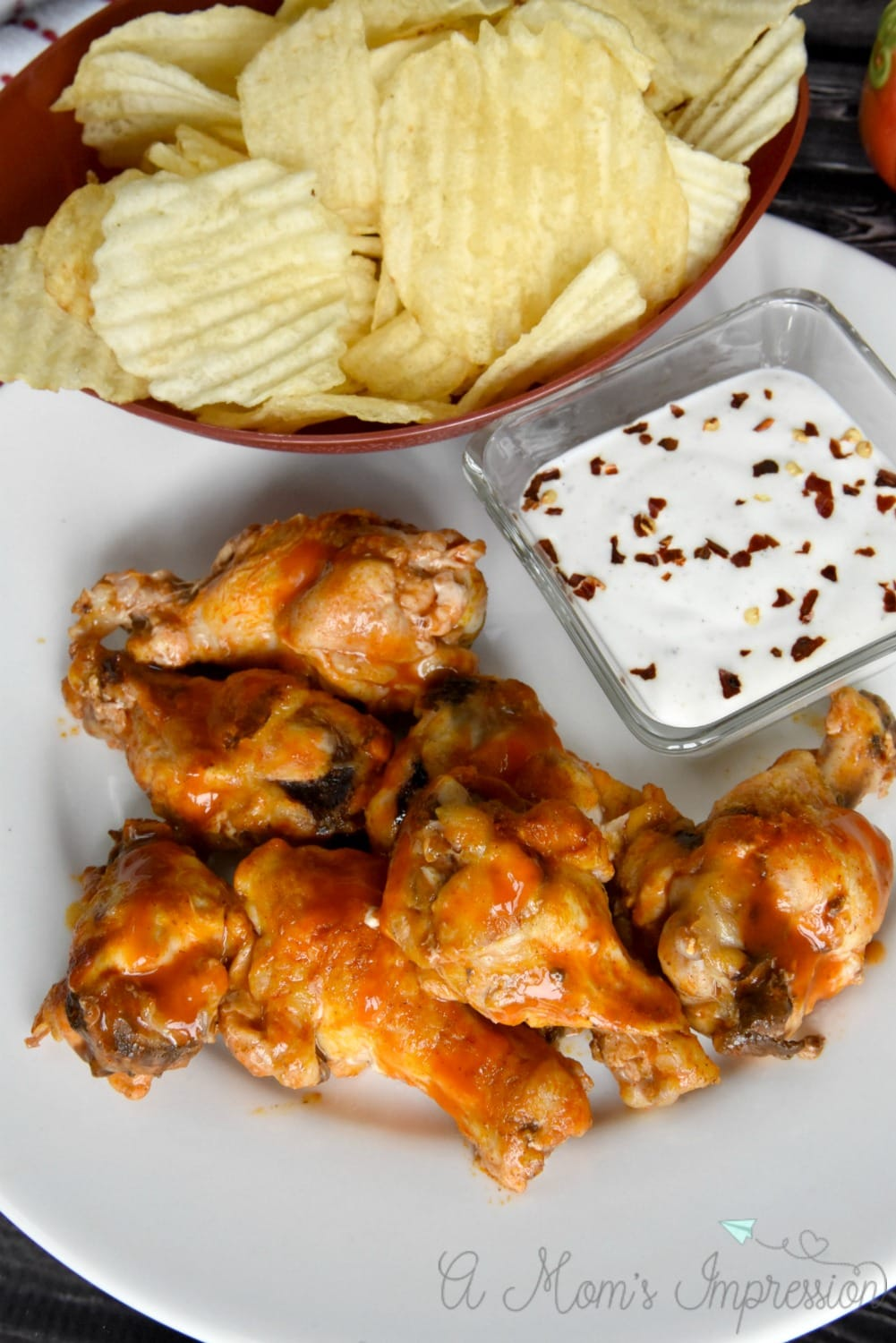 Simple Buffalo Chicken Wings Recipe