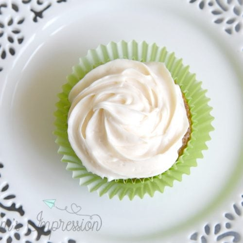 No Nut Carrot Cake Cupcake Recipe