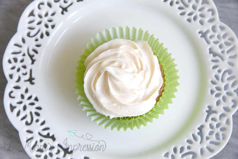 No Nut Carrot Cake Cupcake Recipe