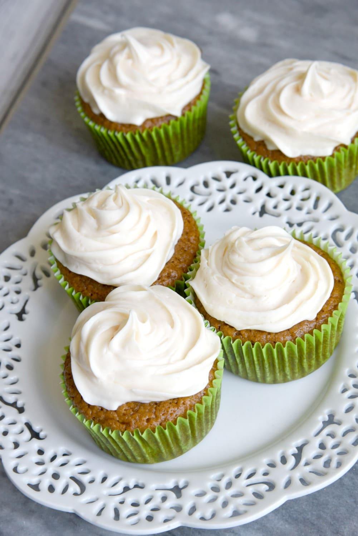 No Nut Carrot Cake Cupcakes Recipe