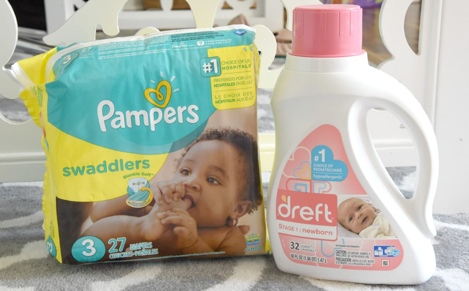Pampers and Dreft