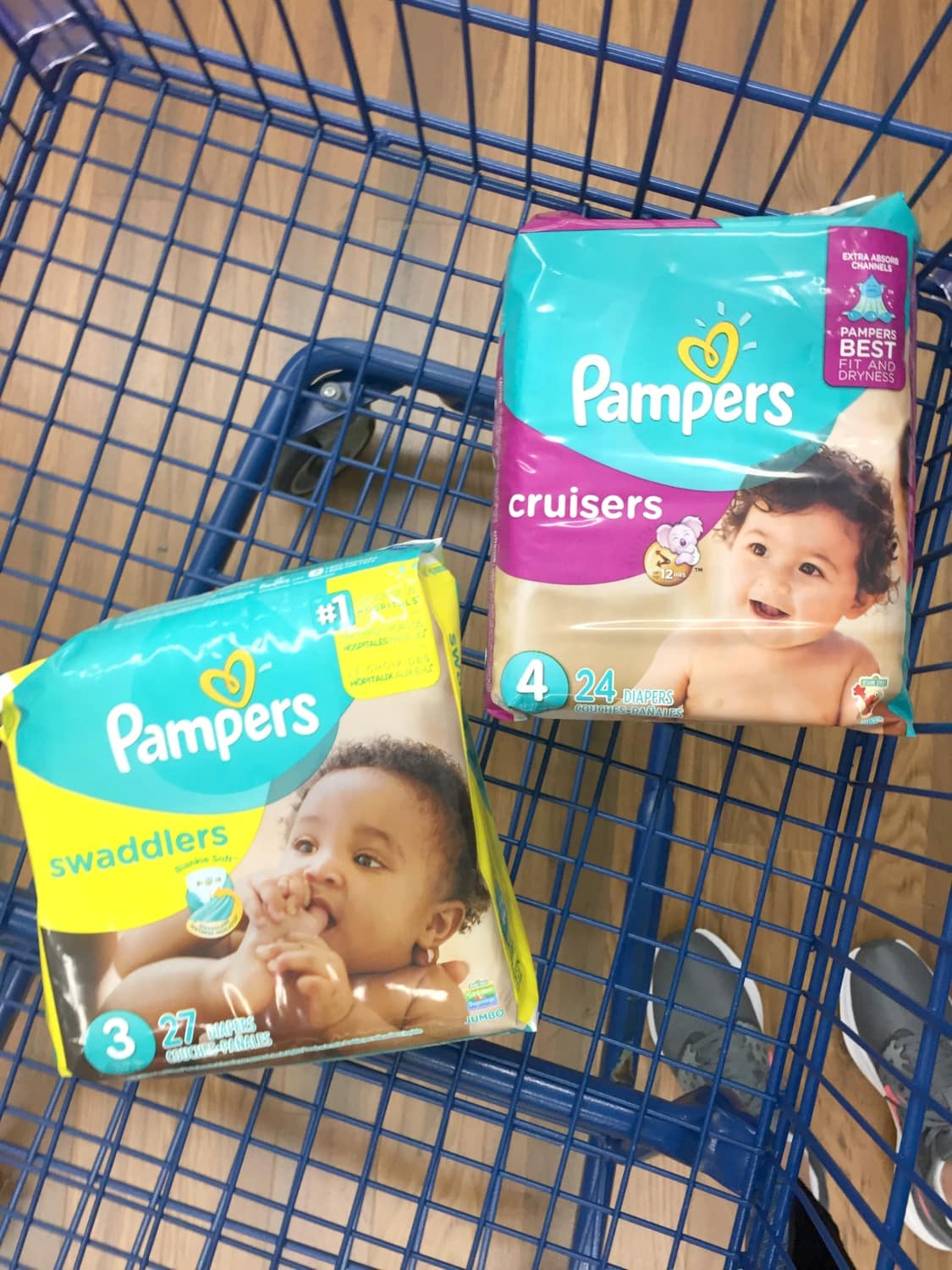 Pampers at Meijer