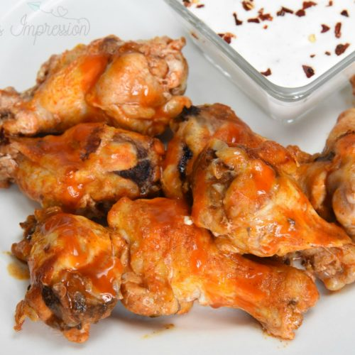 Simple Buffalo Chicken Wings