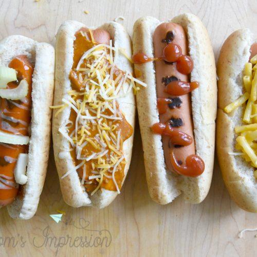 The hotdog bar
