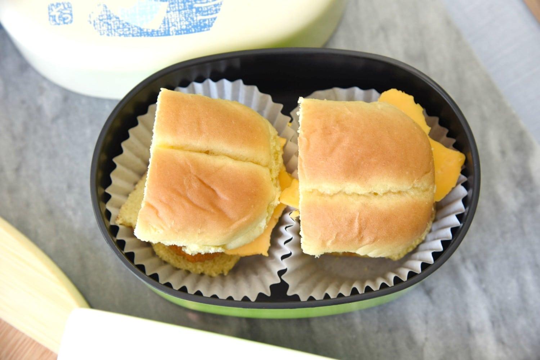 easy lunchbox chicken sandwich