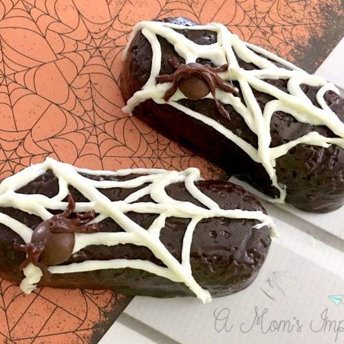 Fun Halloween Treats for Kids – Spider Web Twinkies