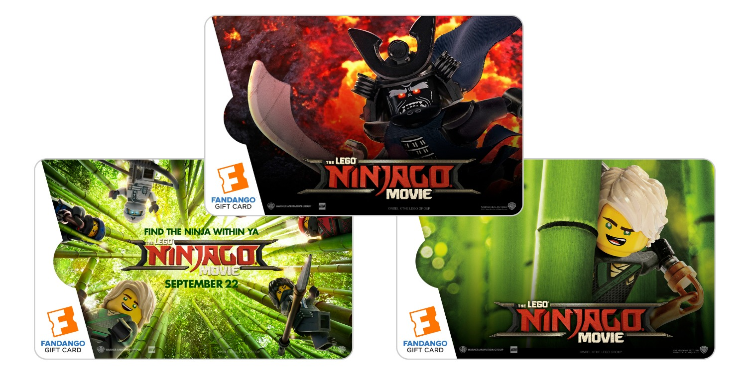 LEGO NINJAGO Movie -FandangoCards