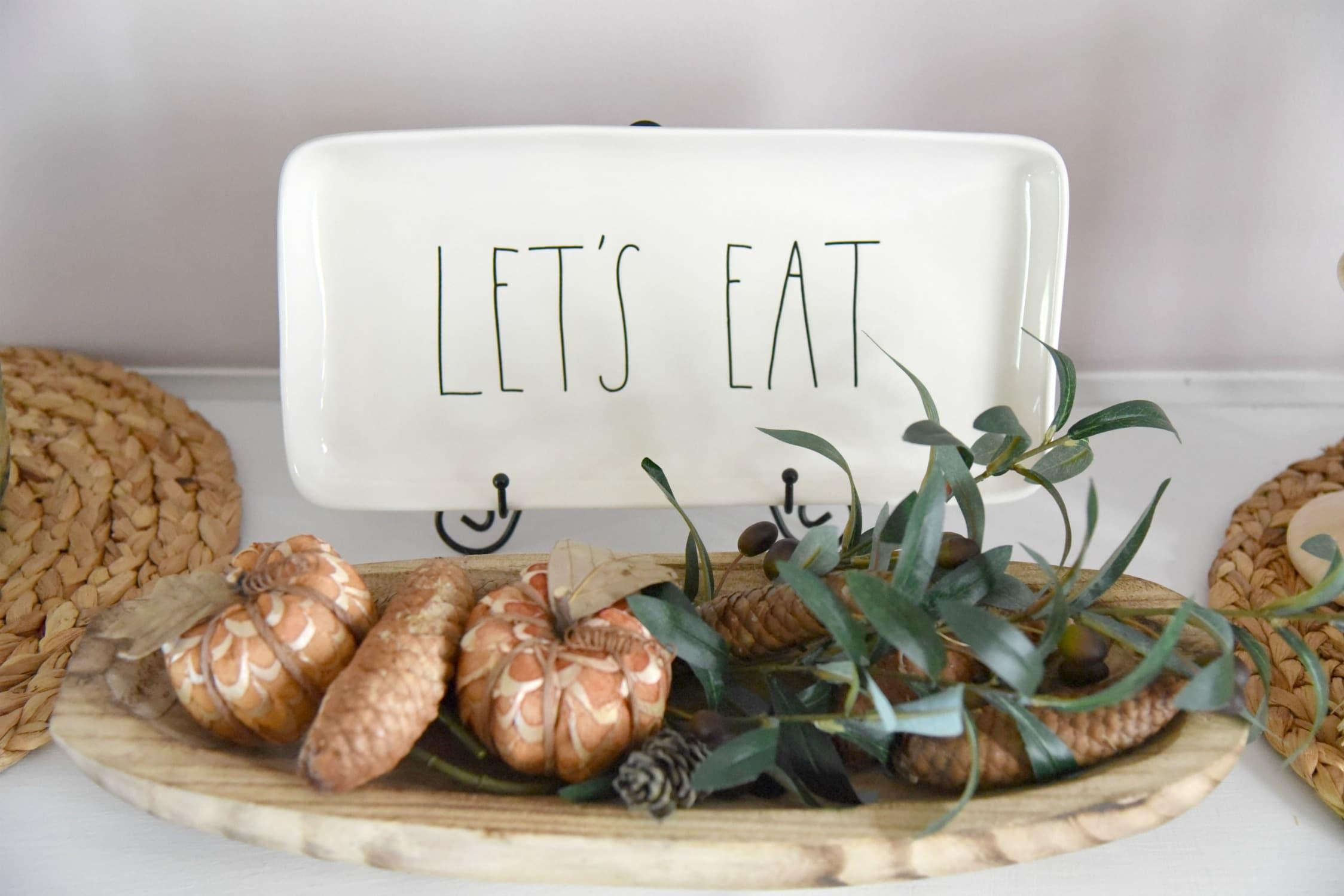 Rae Dunn Let's Eat Platter