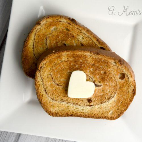 Oatmeal Swirl Bread