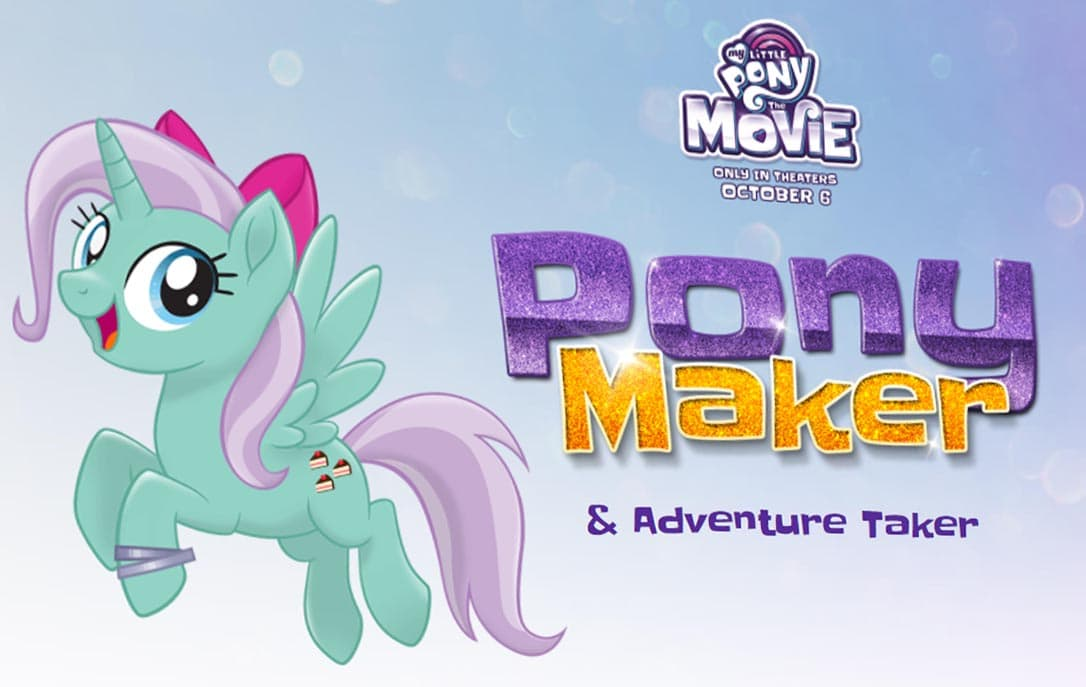create your own my little pony my little pony the movie