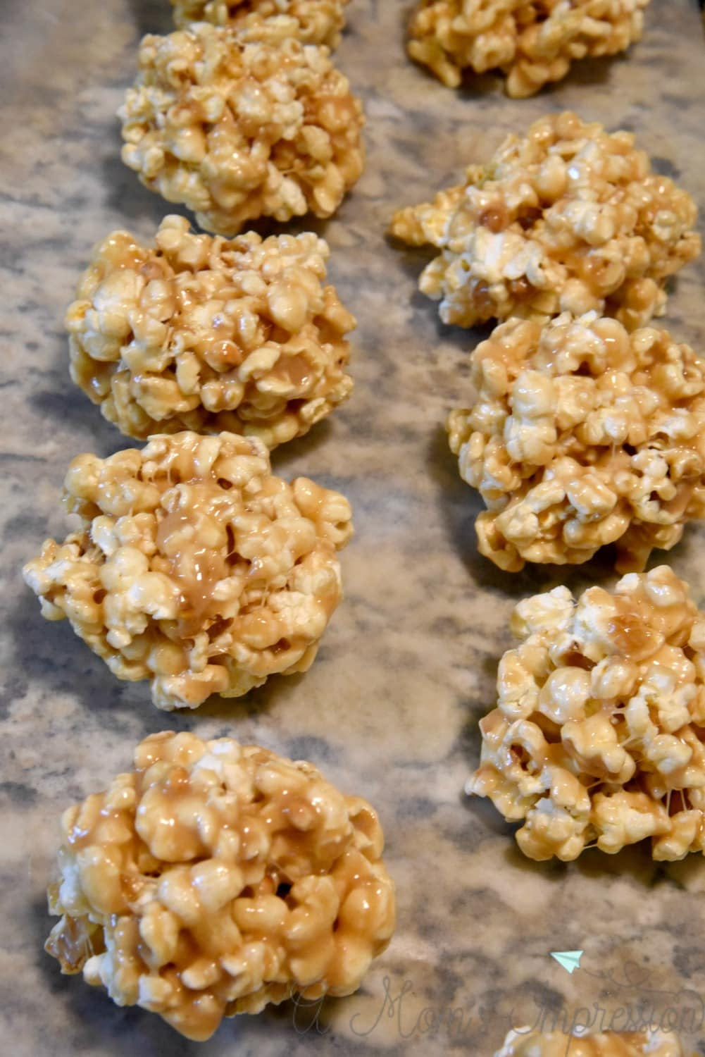 Movie Night Snacks: Easy Peanut Butter Popcorn Balls