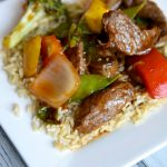 Simple Beef Stir-Fry with Rice Recipe