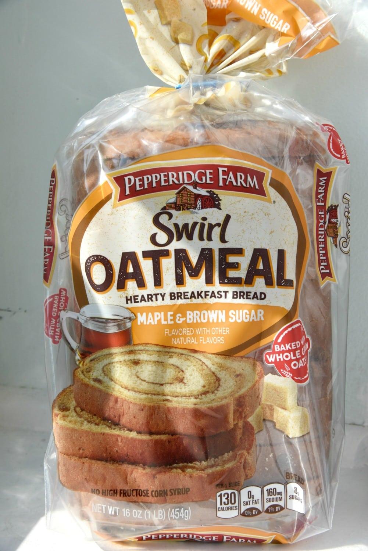 Swirl Oatmeal Bread