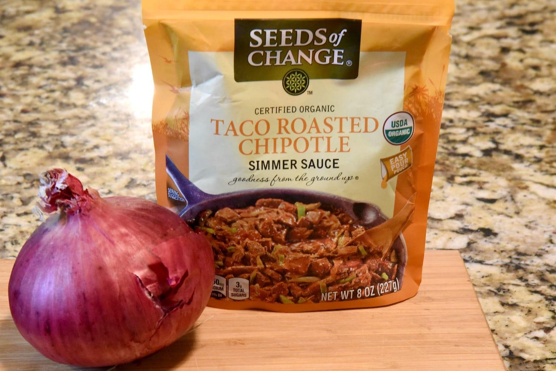 Taco roasted chipotle