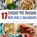 17 of the Best 3 Ingredient Instant Pot Recipes