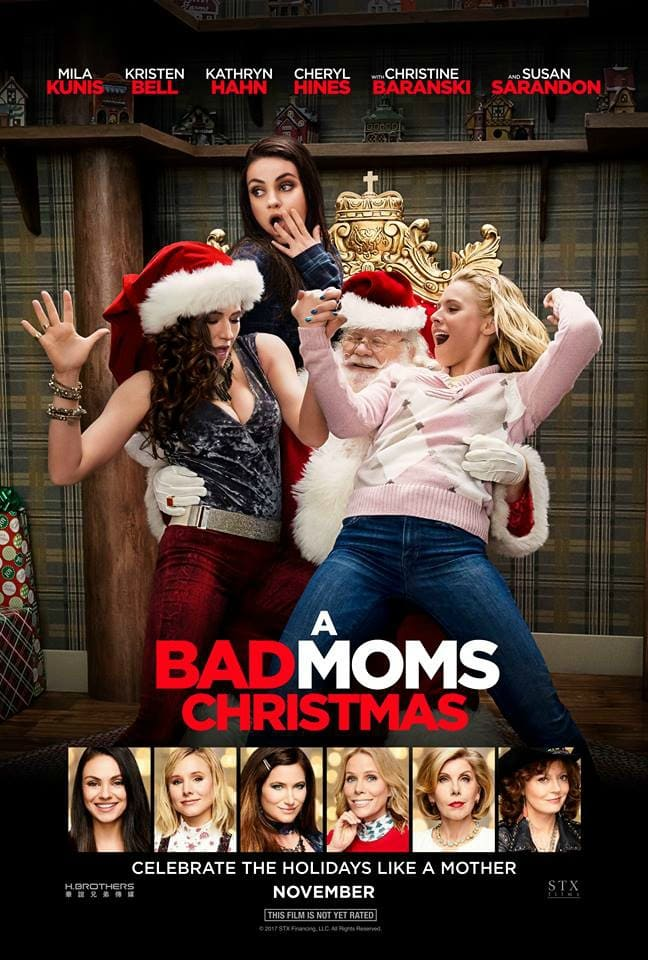Bad Moms Xmas Movie Poster