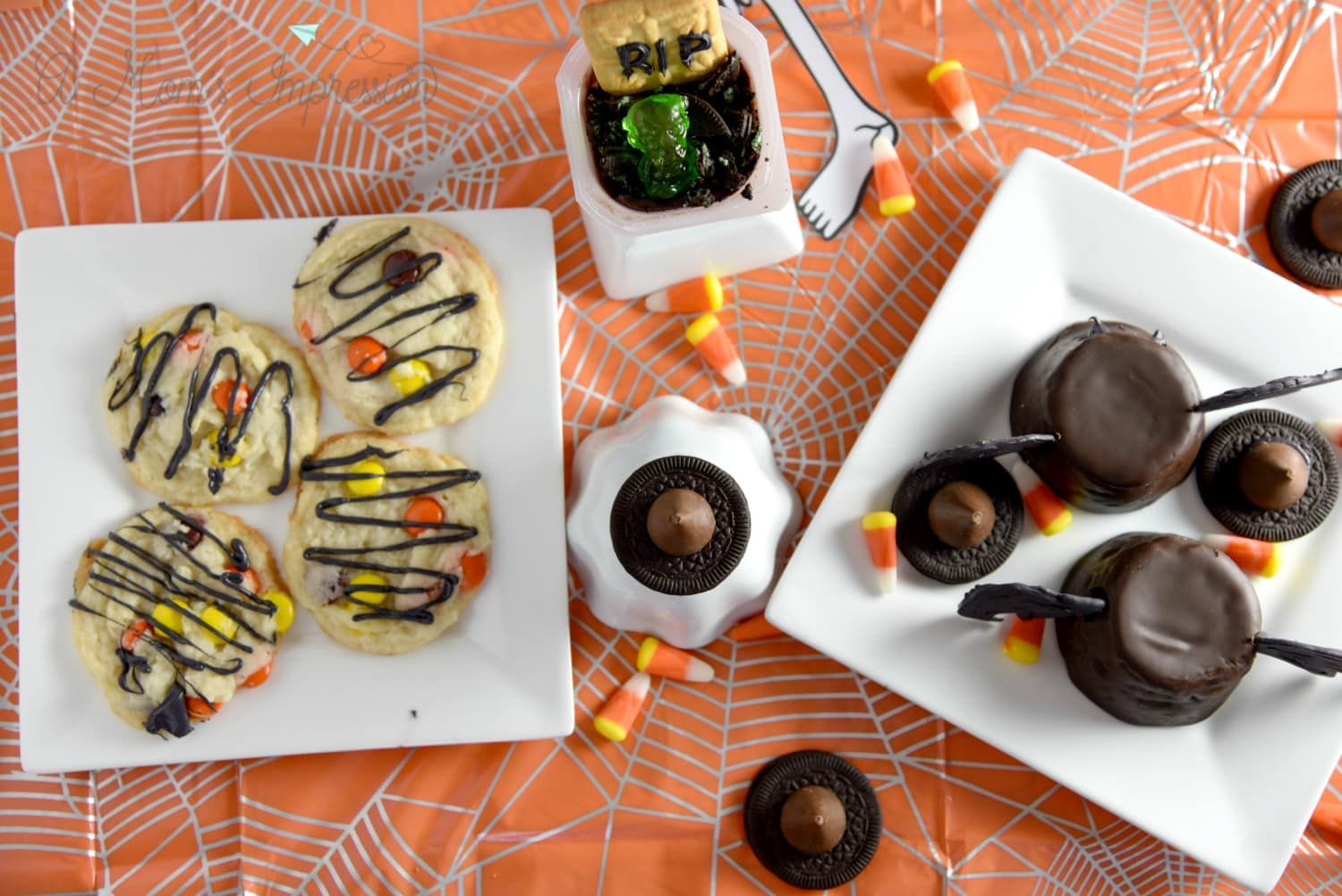 Halloween Sweets Table