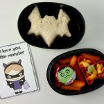 Halloween lunchbox note