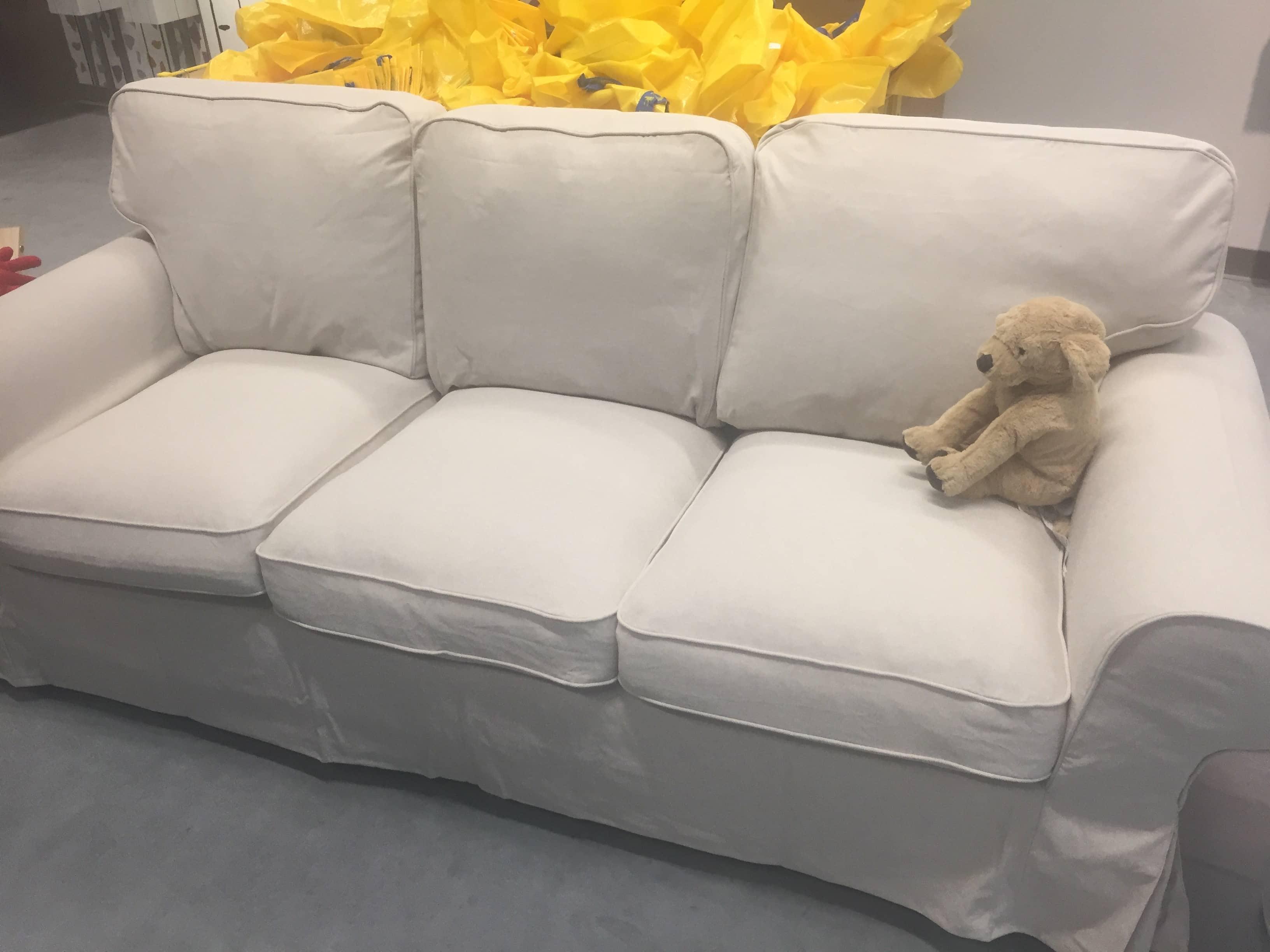 Ikea giveaway sofa