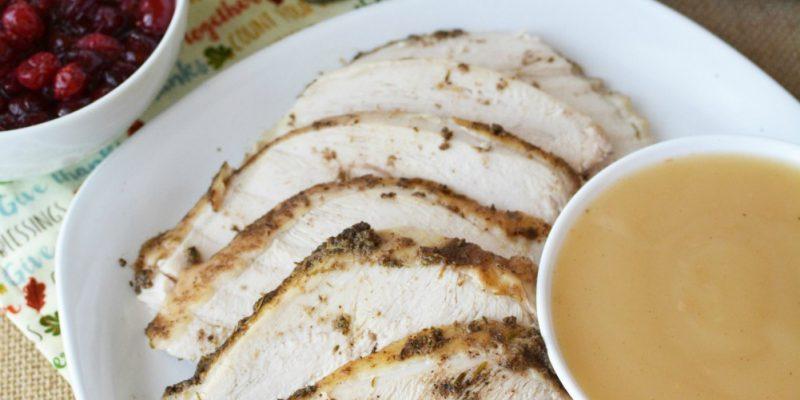 Instant Pot Turkey Dinner