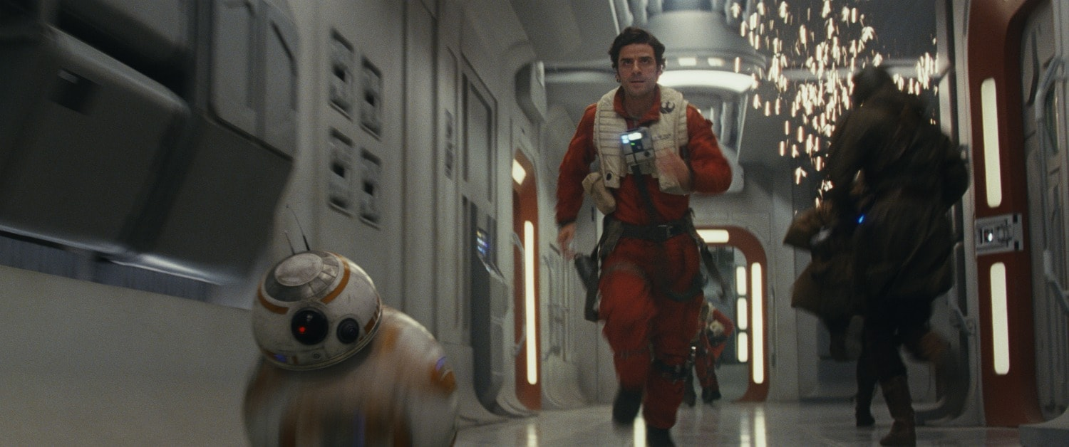 Poe and BB-8