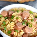 Smoked Sausage and Cheese Pasta