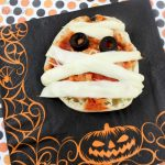 Super Simple Halloween Mummy Pizza Recipe
