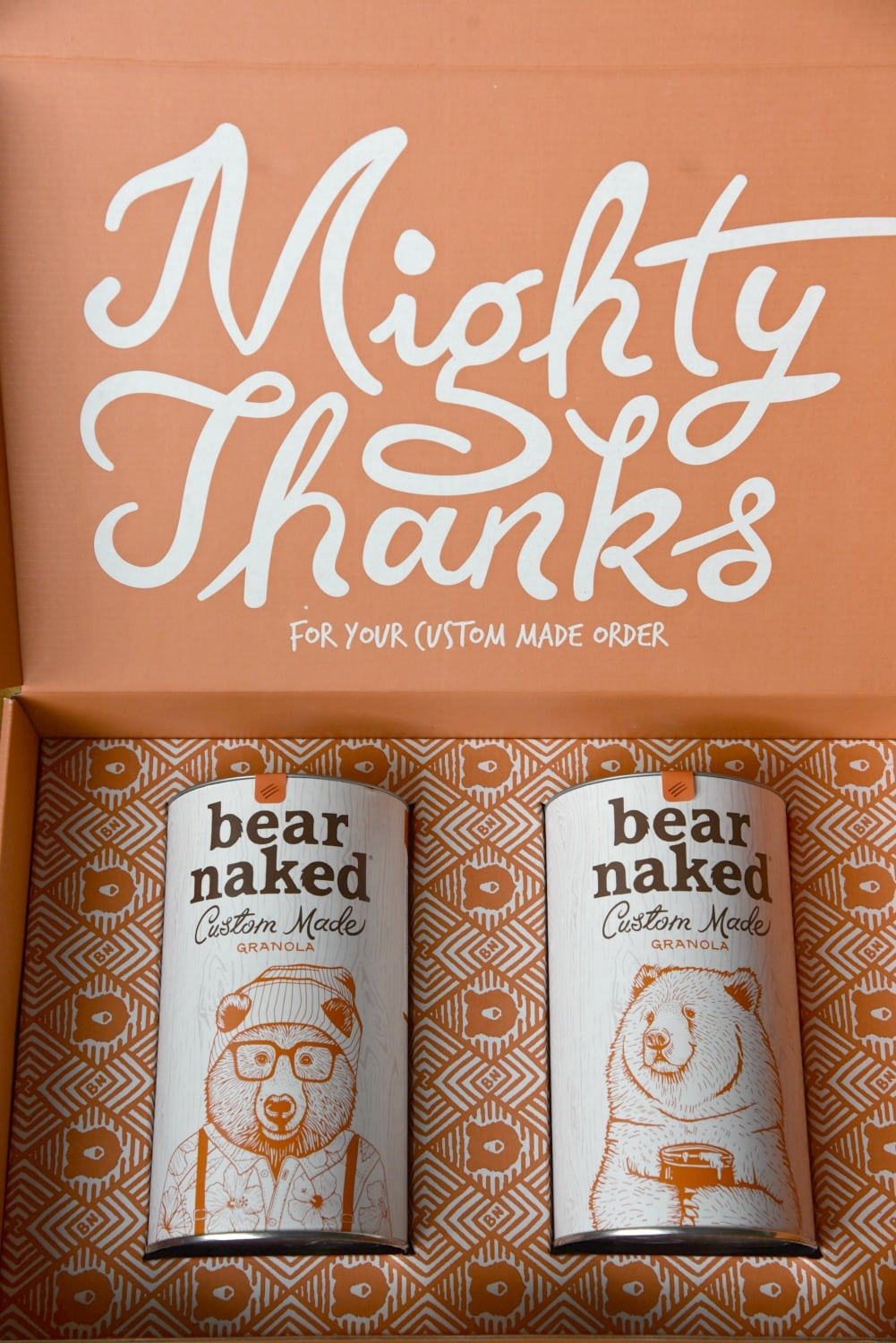 bear naked shipped