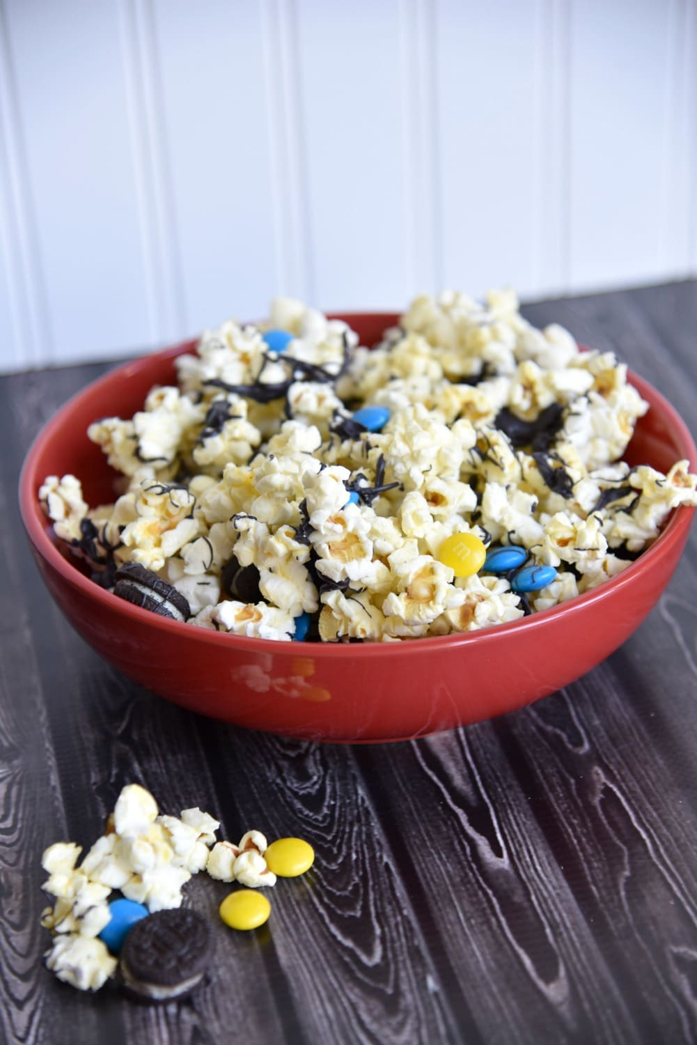 Batman themed popcorn